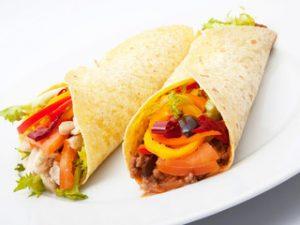 Tortilla kebab